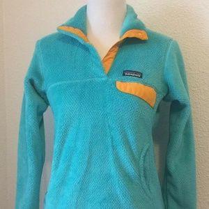Patagonia Womens Jackets Size Small Pullover Aqua